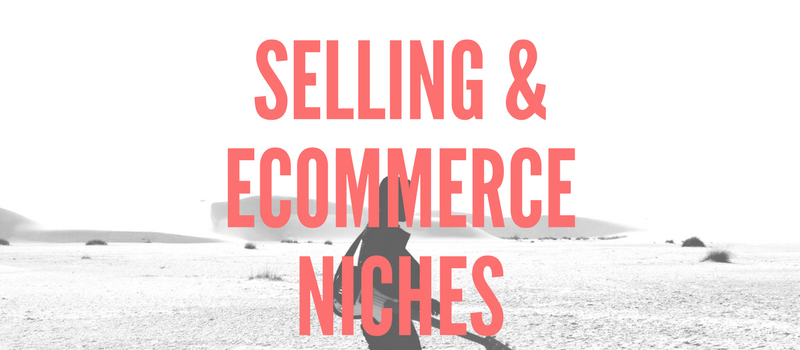 Selling & ECommerce Niches